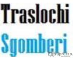 TRASLOCHI TRASPORTI E SGOMBERI ECONOMICI TEL. 327-3552337