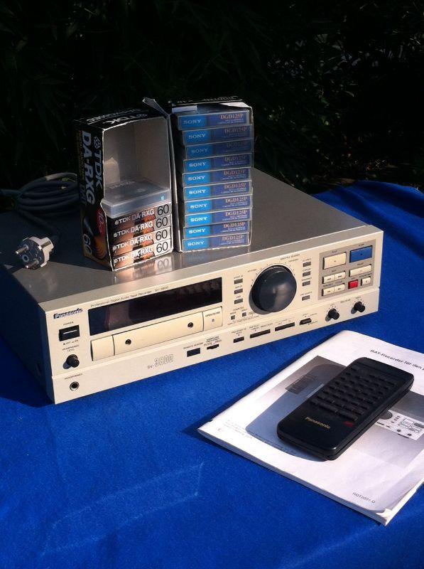 Altro - registratore professionale marca:DAT Panasonic