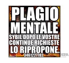 PLAGIO MENTALE ENERGETICO MANIPOLAZIONE MENTALE DI SICURA RIUSCITA SYBIL 3461227782